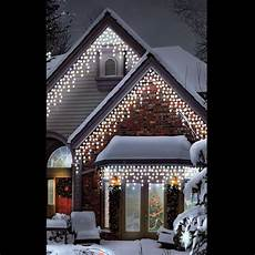 Warm White Christmas Lights Outdoor Christmas Led Warm Amp Ice White Multi Function Outdoor
