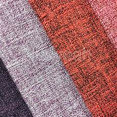 colorful linen look furniture fabric