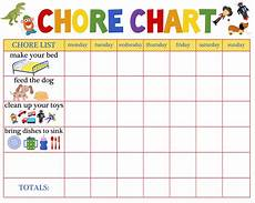 Chore Chart For 6 Year Old Behaviour Charts For 6 Year Olds Chore Chart For