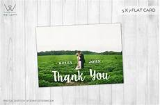 thank you card photoshop template free thank you card wedding template card templates on