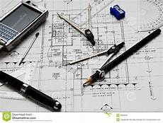 Architecture Equipment Architect S Tools Royalty Free Stock Images Image 3554819
