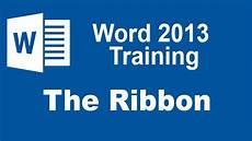 Microsoft Word Free 2013 Microsoft Word 2013 Training The Ribbon Youtube