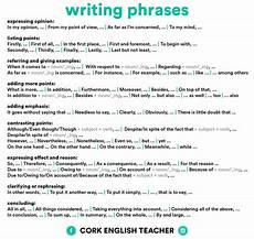 Essay Phrases My English Backroom 4 Infographics To Improve Writing
