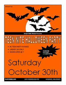 Word Halloween Templates Halloween Party Flyer Template Microsoft Word Templates