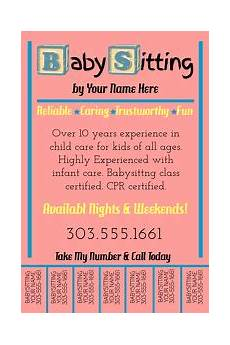 Babysitting Pamphlets 260 Babysitting Customizable Design Templates Postermywall