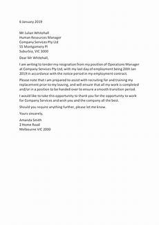 Letter Of Resognation Resignation Letter Templates How To Resign In 2020