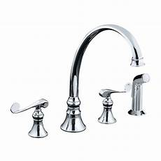 Kohler Kitchen Faucet Kohler Revival 2 Handle Standard Kitchen Faucet In