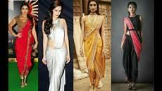 Dhoti Saree Design Latest Dhoti Saree Ideas Beautiful Dhoti Style Saree