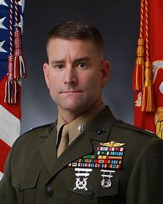 Navy Intelligence Officer Lieutenant Colonel Brian Rideout Gt Marine Corps Forces