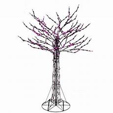 6 Ft Lighted Twig Tree Home Accents Holiday 6 Ft Purple Led Twig Tree 4406008bk
