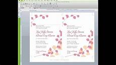 Program To Make Invitations Free How To Edit A Wedding Invitation Template In Word Youtube