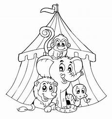 zirkus ausmalbilder ausmalbilder seilt 228 nzer seite circus