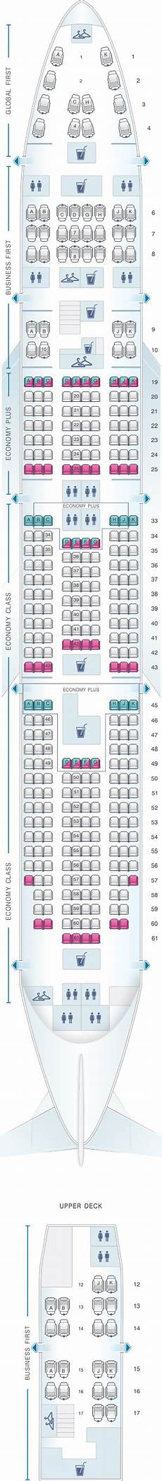 747 400 Seating Chart United Airlines Seat Map United Airlines Boeing B747 400 Seatmaestro