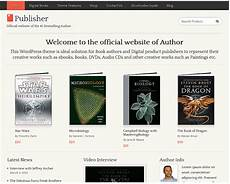 Publisher Themes Publisher Theme Sell Books Using Wordpress Practical Wp