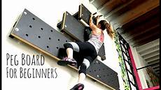 Pegboard Climbing Wall How To Climb The Peg Board For Beginners