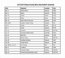 Basketball Schedule Maker 8 Basketball Schedule Templates Amp Samples Doc Pdf Psd