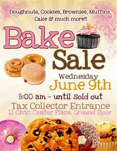 Bake Sale Poster Templates Free Pretty Witty Designs Some Flyers