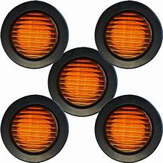 2 5 Round Light Hole Size Shop For Trailer Led Side Clearance Lights 5pack 2 5