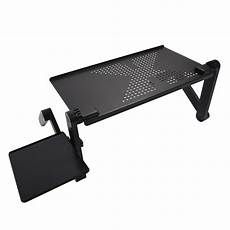 adjustable multi functional ergonomic mobile laptop table