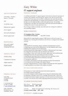 It Cv It Cv Template Cv Library Technology Job Description