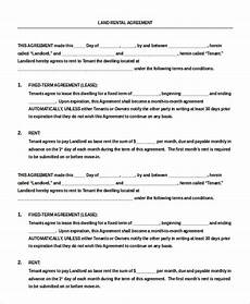 Residential Lease Agreement Template Free Download 14 Blank Rental Agreement Free Amp Premium Templates