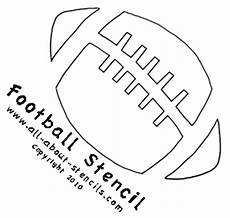 Football Stencil Printable Sports Stencils Make It Easy To Decorate For Your Favorite