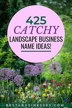 Landscaping Business Name Ideas 425 Catchy Landscaping Company Name Ideas Naturally