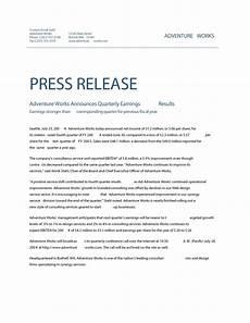 Press Releases Template Business Press Release Format Emmamcintyrephotography Com