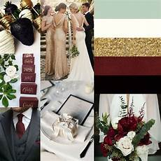 burgundy and ivory wedding colors