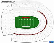 Dbacks Interactive Seating Chart B Deck Box Seats Ohio Stadium Football Seating
