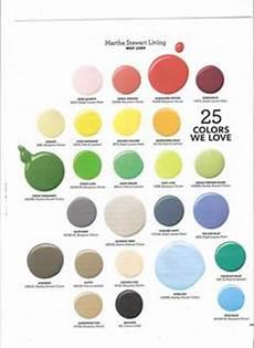 Martha Stewart Craft Paint Color Chart Pinterest