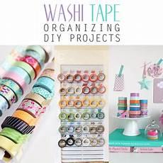diy projects organizing washi organizing diy projects the cottage market