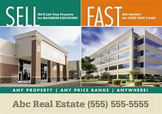 Commercial Real Estate Templates Commercial Real Estate Postcards Tips For Instant Leads