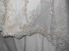 how to hem a wedding gown with a lace hem sew much
