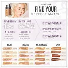 Younique Liquid Foundation In 19 Shades Color Matching