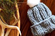 chunky knit hat pattern in a stitch
