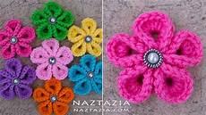 crochet flowers diy tutorial how to crochet kanzashi flower flowers of