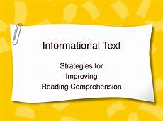 Informational Powerpoint Ppt Informational Text Powerpoint Presentation Id 1248343