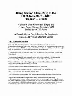 Credit Repair Letters Section 609 Credit Dispute Reviews Printable Receipt