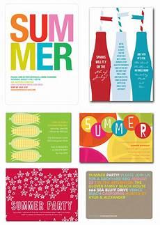 Summer Party Invites Summer Party Invitations Invitation Crush