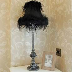 Feather Light Furniture Black Feather Lamp My Style Pinterest Black
