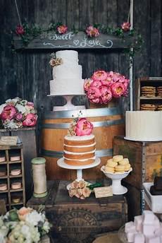 is sweet enjoy a treat make a rustic dessert table