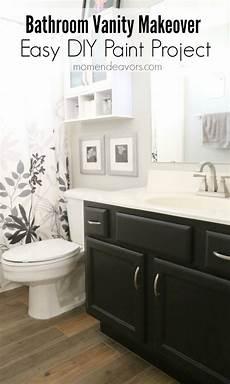 painted bathroom vanity ideas bathroom vanity makeover easy diy home paint project