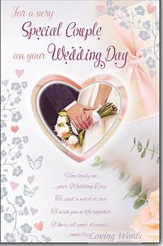 Wedding Greetings Words Special Couple Wedding Day Greeting Cards By Loving Words