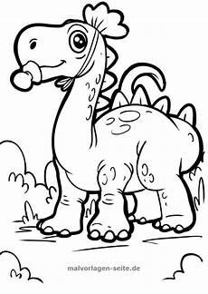 Dinosaurier Ausmalbilder Triceratops Malvorlage Dinosaurier