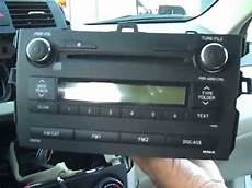 Toyota Corolla Stereo Removal And Repair 2009 2012 Youtube
