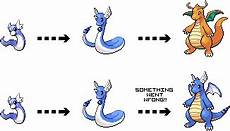 Pokemon Dragonair Evolution Chart Failed Evolution Dragonite By Riddickdj On Deviantart