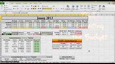 Making A Budget Planner How To Make A Budget In Excel Part 1 Youtube