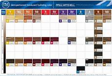 Paul Mitchell Inkworks Color Chart Paul Mitchell Paul Mitchell Pm Shines Demi Permanent