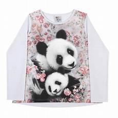 panda clothes for pulla bulla sleeve t shirt panda graphic